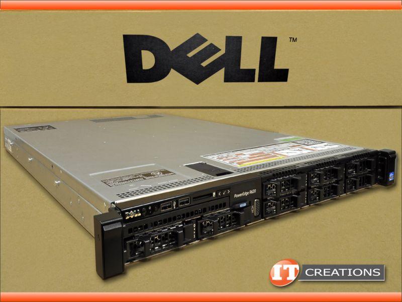 DELL R620 8 BAY SERVER E5-2603 1 80GHZ 32GB 480GB SSD H310
