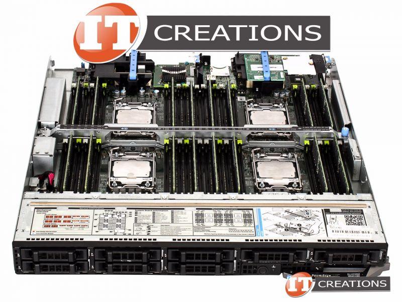 DELL POWEREDGE FC830 TWO E5-4660V3 2 1GHZ 64GB 6 X 300GB 15K SAS H330