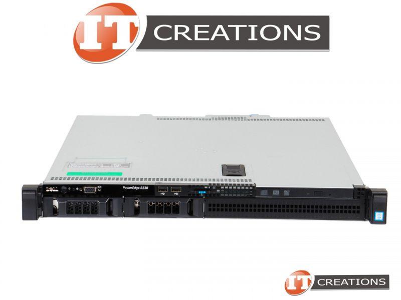 DELL POWEREDGE R230 SERVER INTEL E3-1240V6 8GB NO HDD