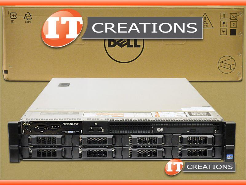 DELL R720 SERVER 3 5 LFF E5-2603 1 80GHZ 8GB 1TB SATA H710
